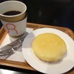 神戸元町で有名な観音屋のあつあつチーズケーキが岡山でも