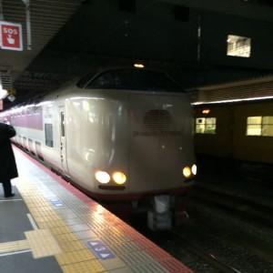 寝台特急サンライズ出雲で東京へ