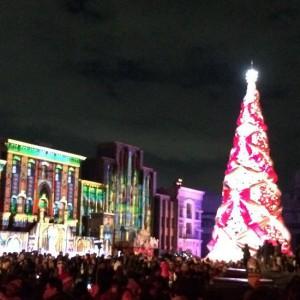 今年もユニバで「ギネス世界一のツリー」と「天使のくれた奇跡Ⅲ」が始まってます。