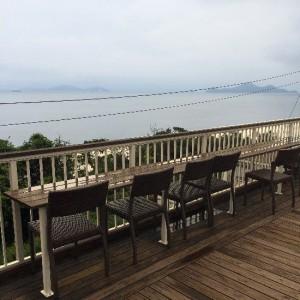 福山、海の見える「たかの巣カフェ」
