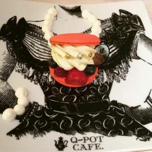 乙女のハートをわしづかみ、可愛い青山Q-potカフェ