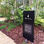 倉敷市林に4月からオープンしている「林のカフェ」