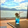 Cafeマサギから見る海
