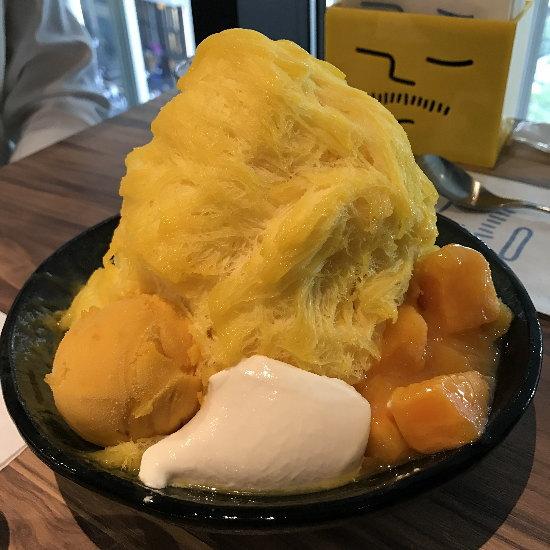 ICE_MONSTERマンゴーかき氷