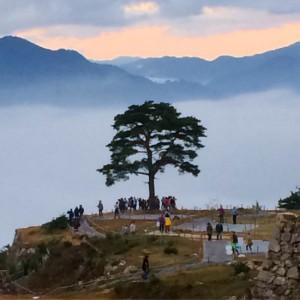 天空の城、竹田城跡へ岡山から行ってみた