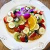 AlohaCafeLilikoiフルーツパンケーキ